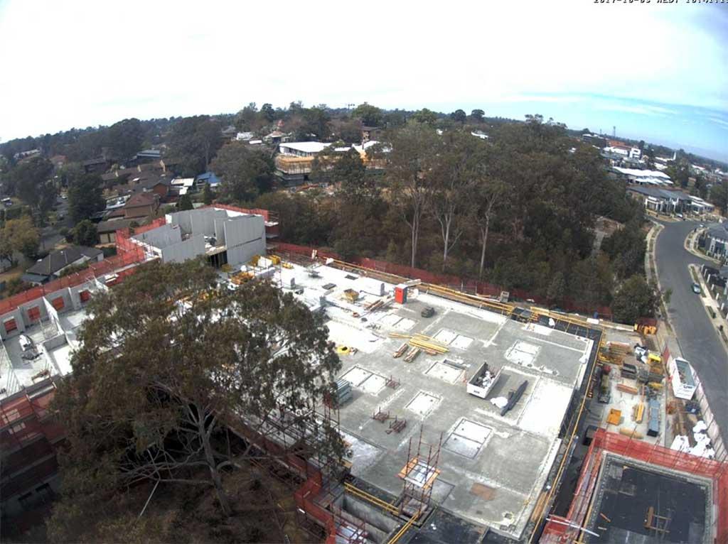 Construction well underway