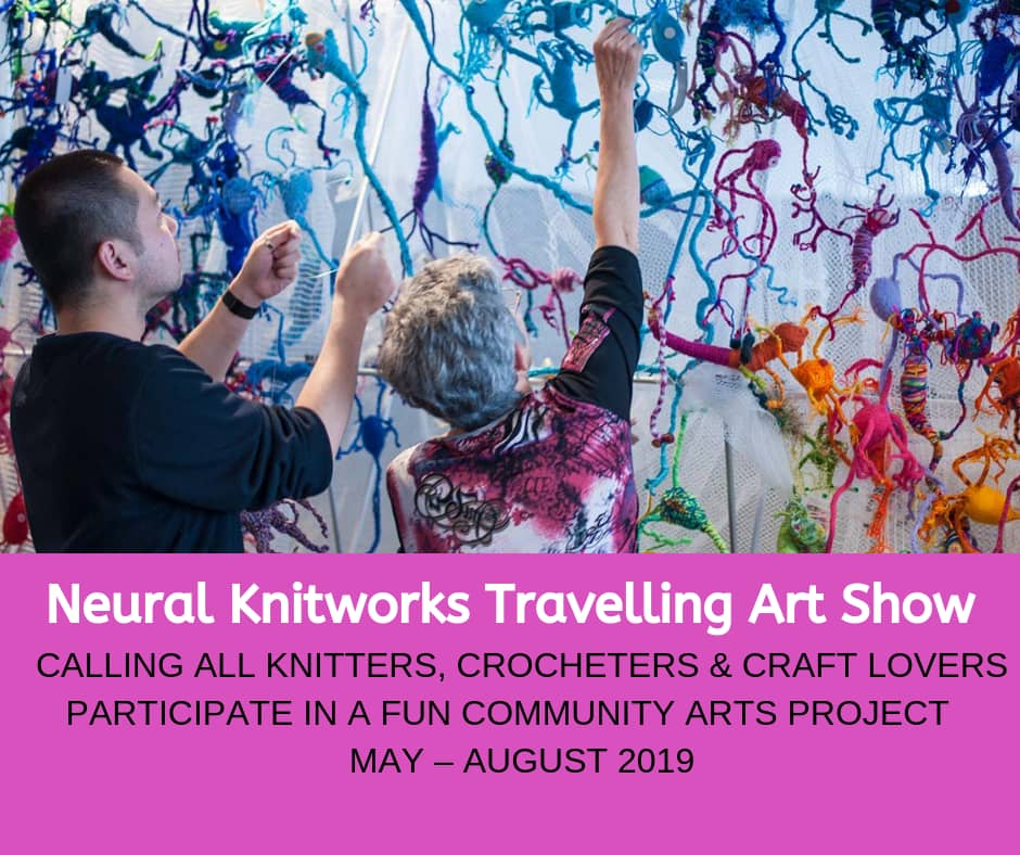 Neural Knitworks Travelling Art Show